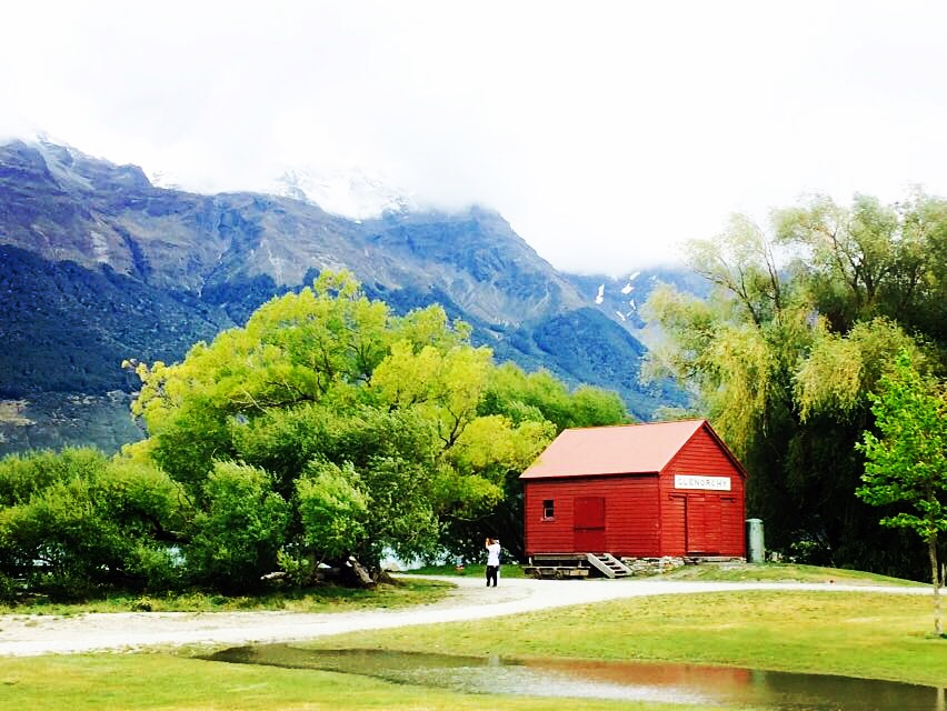 The laid back town of Glenorchy, New Zealand