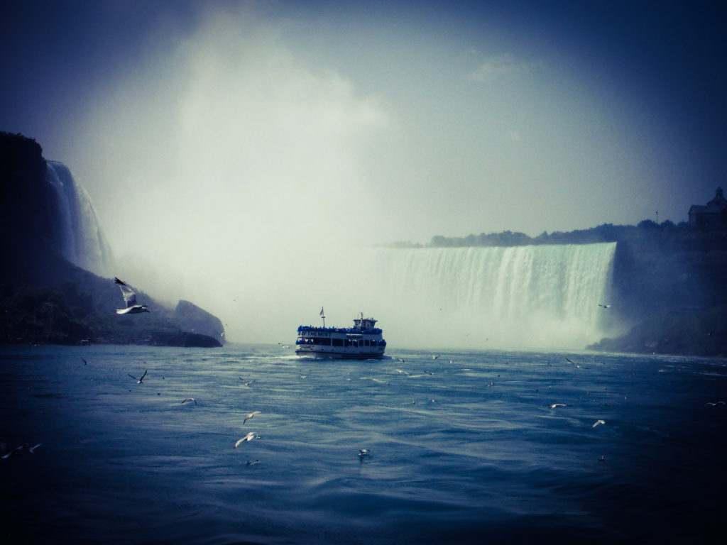 The colossal Niagara Falls, Canada
