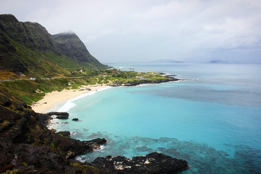 The stunning Hawaiian coasts
