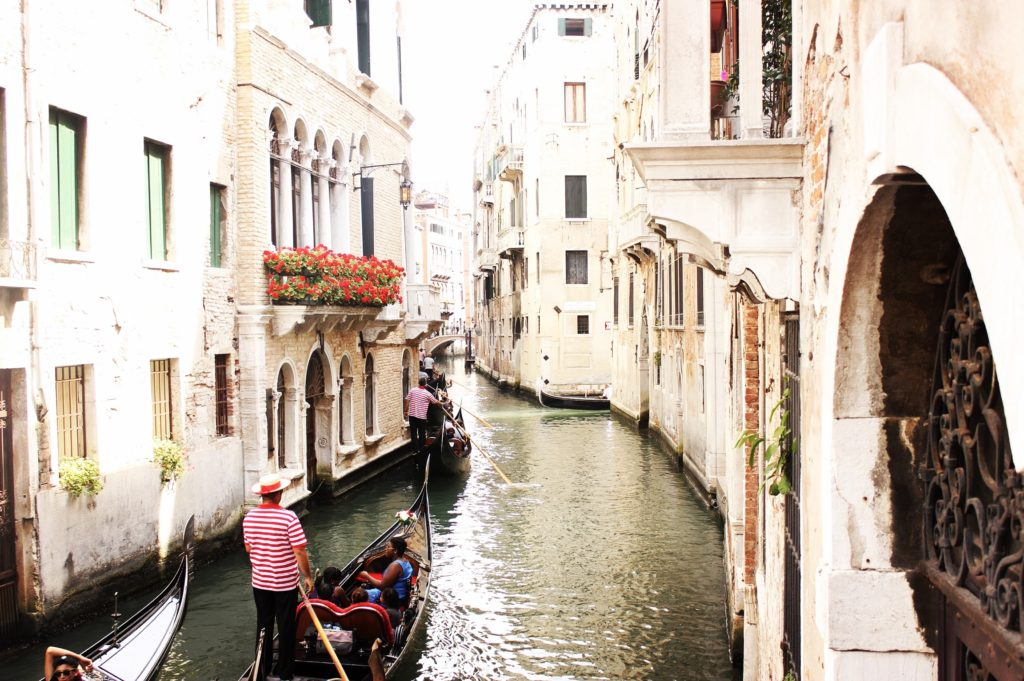 Romance never dies in Venice, Italy