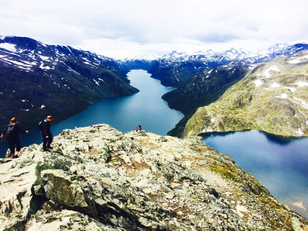 The iconic Bessegen hike of Norway