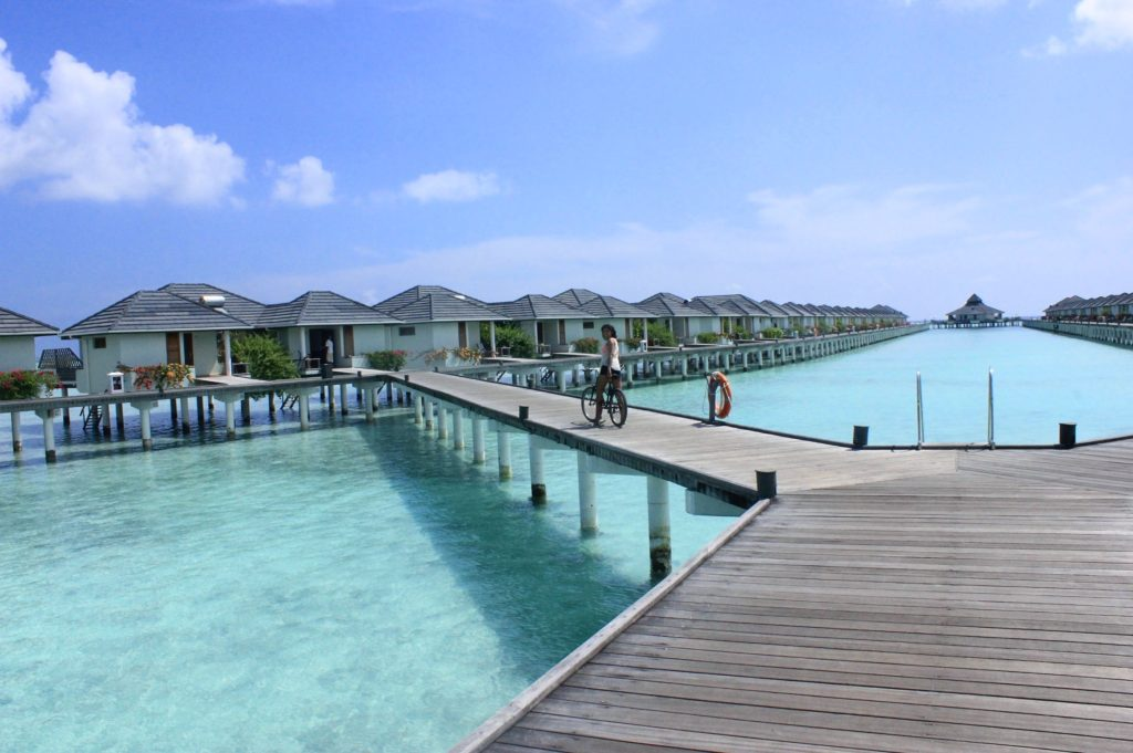 Water huts, Maldives