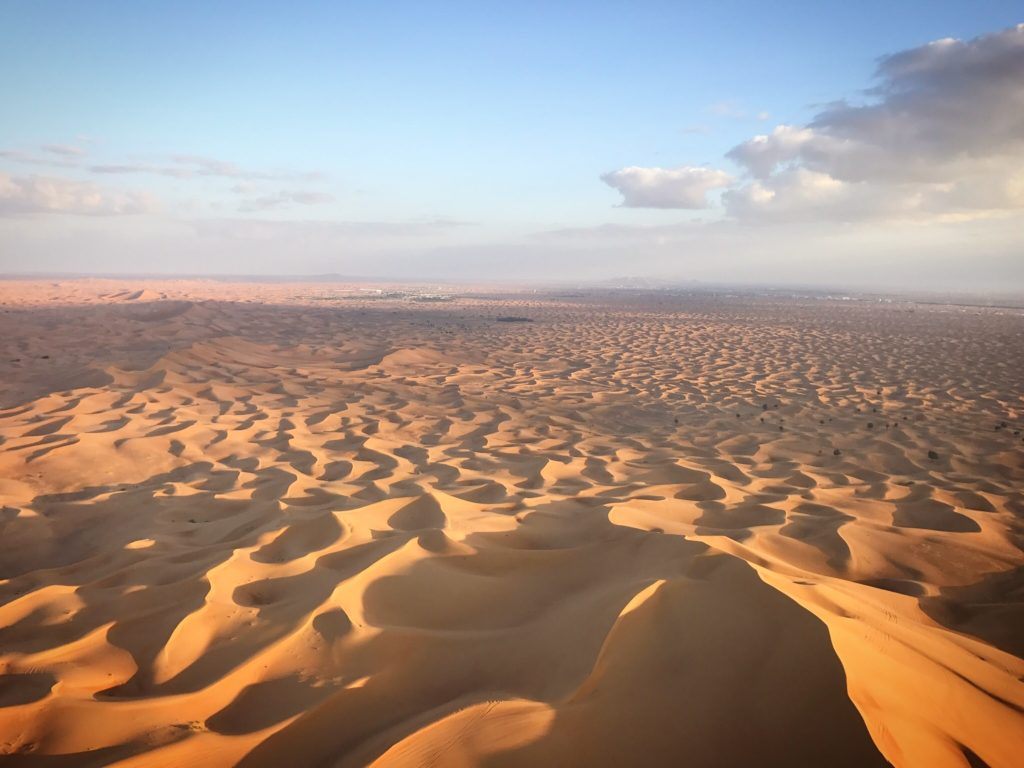 The massive Arabian desert