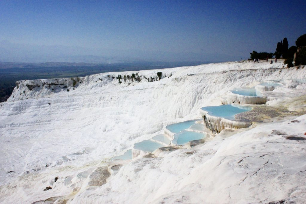 The hot springs, Pamukkale, Turkey