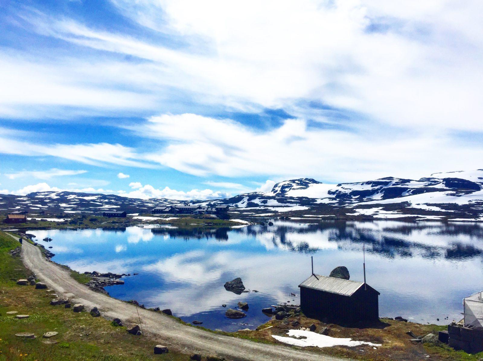 Train journey from Oslo to Flåm