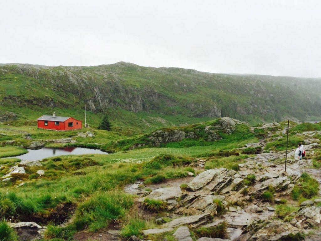 Vidden Trail between Floyen and Ulriken
