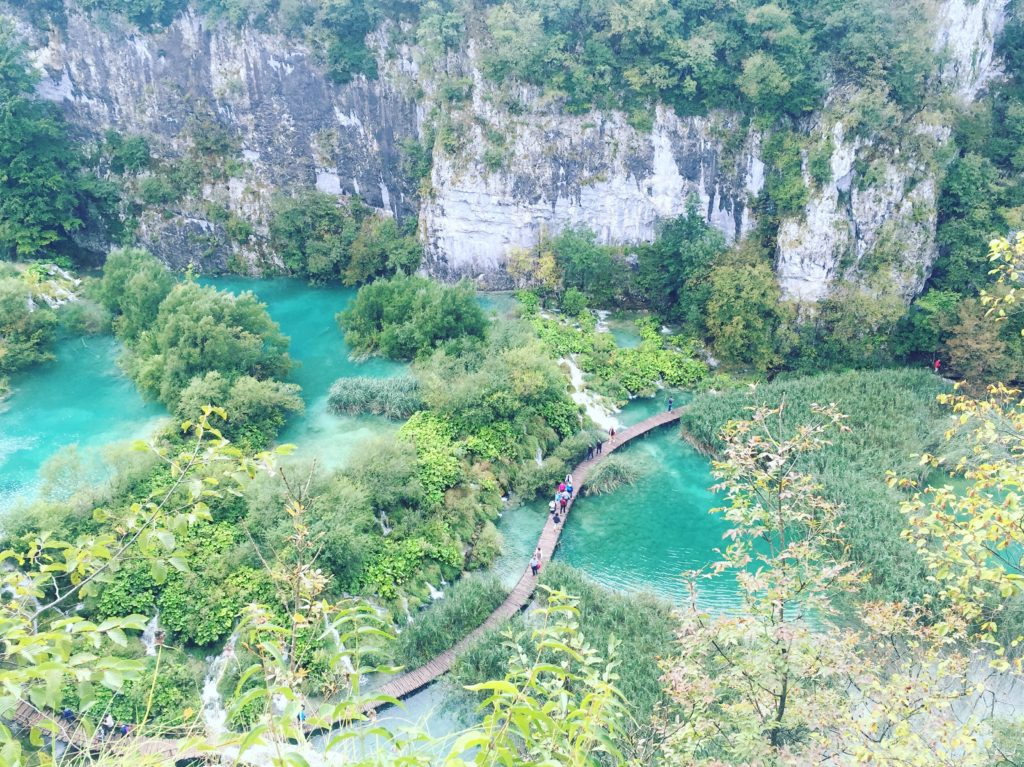 The gorgeous Plitvice lakes of Croatia