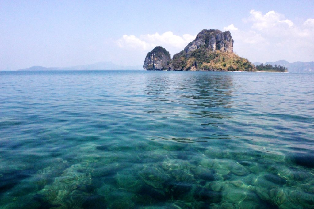 Clear blue waters of Thailand