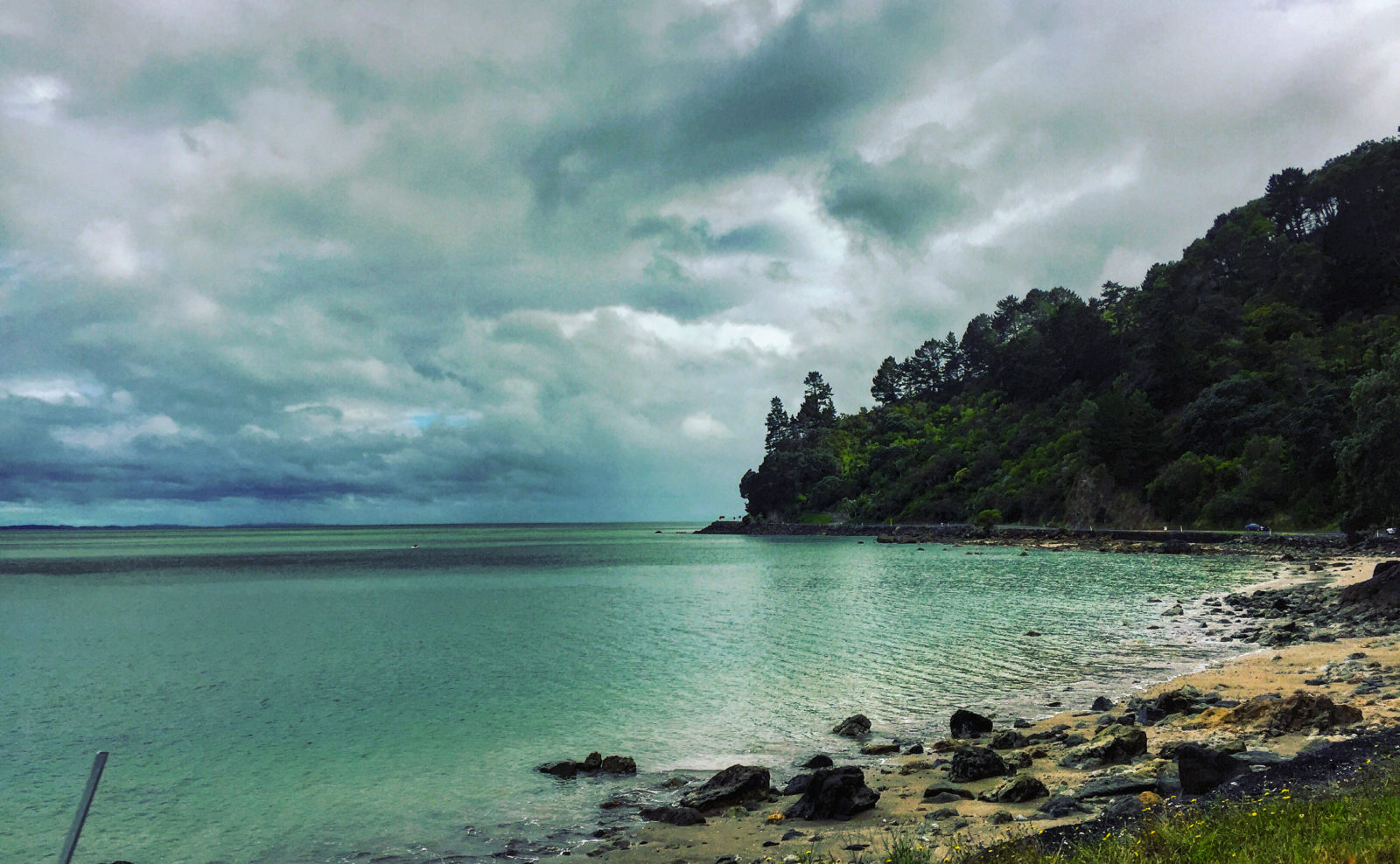 Secluded beaches along the drive to Coromandal