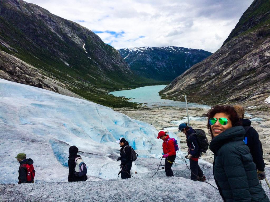 Glacier Hiking on Nigardsbreen Glacier