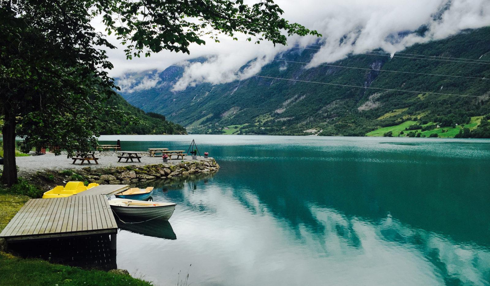 Lake Oldevatnet Camping