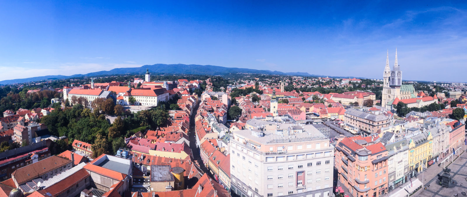 View from Zagreb Eye