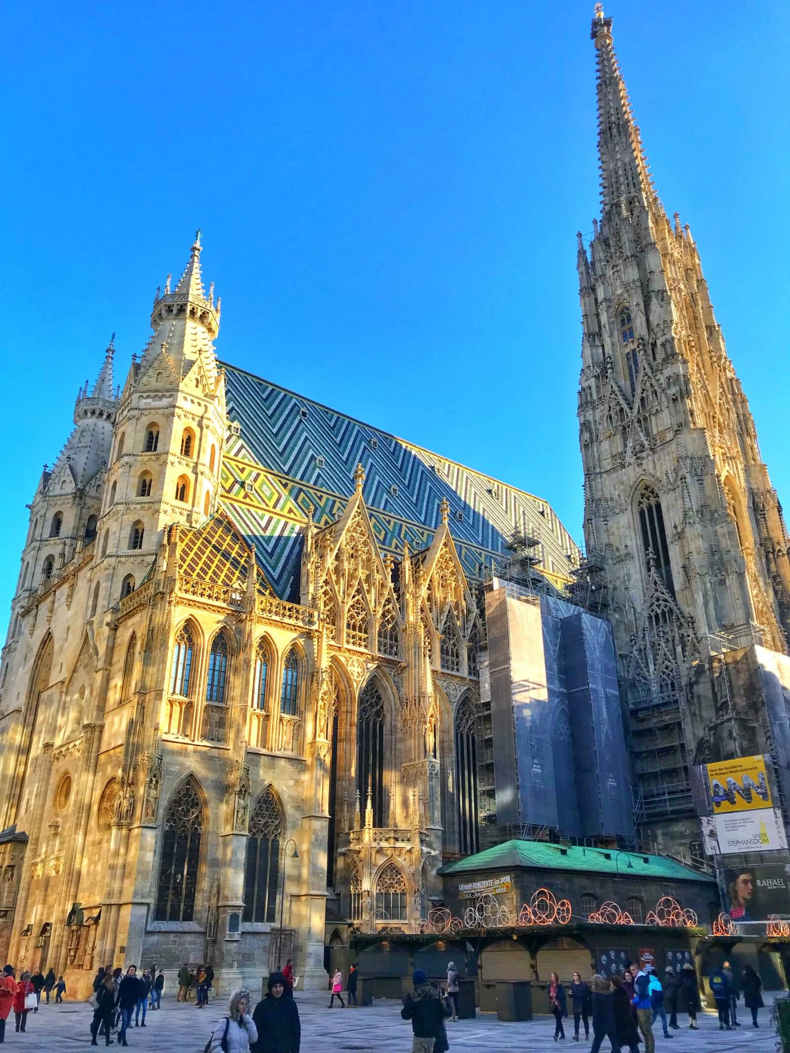 St Stephen's Cathedral, Vienna in winter