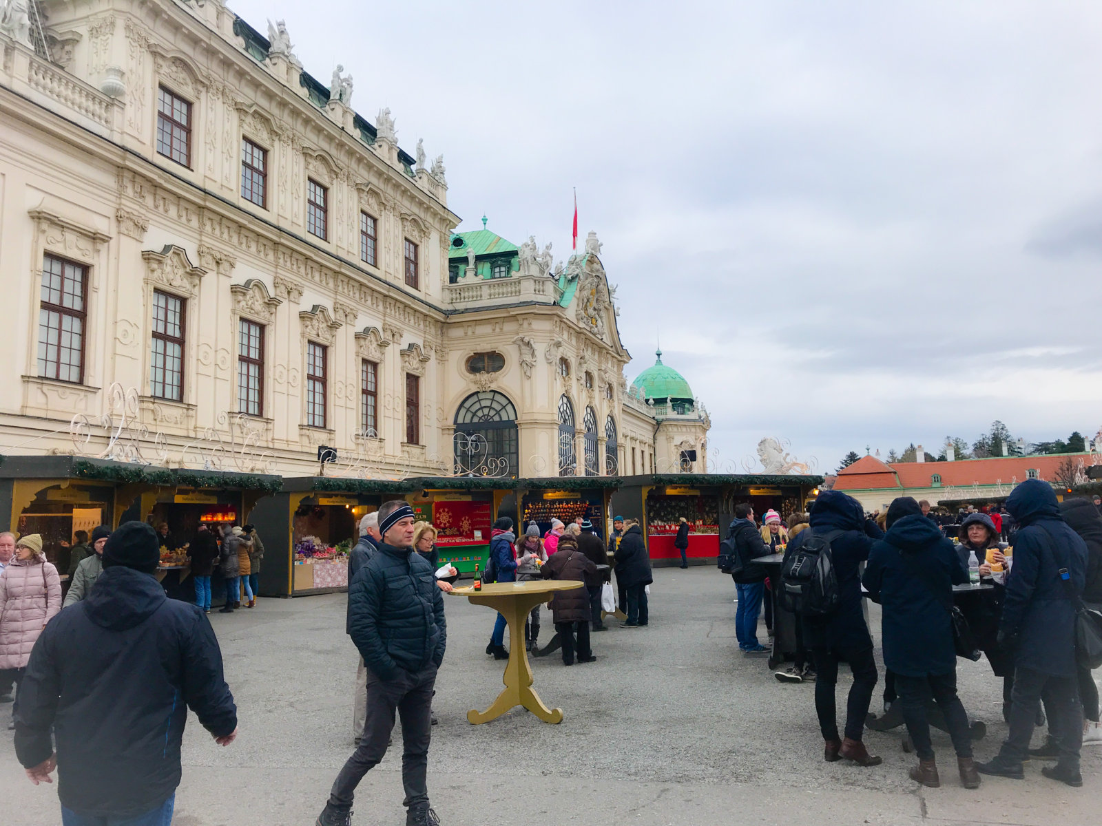 Vienna in winter