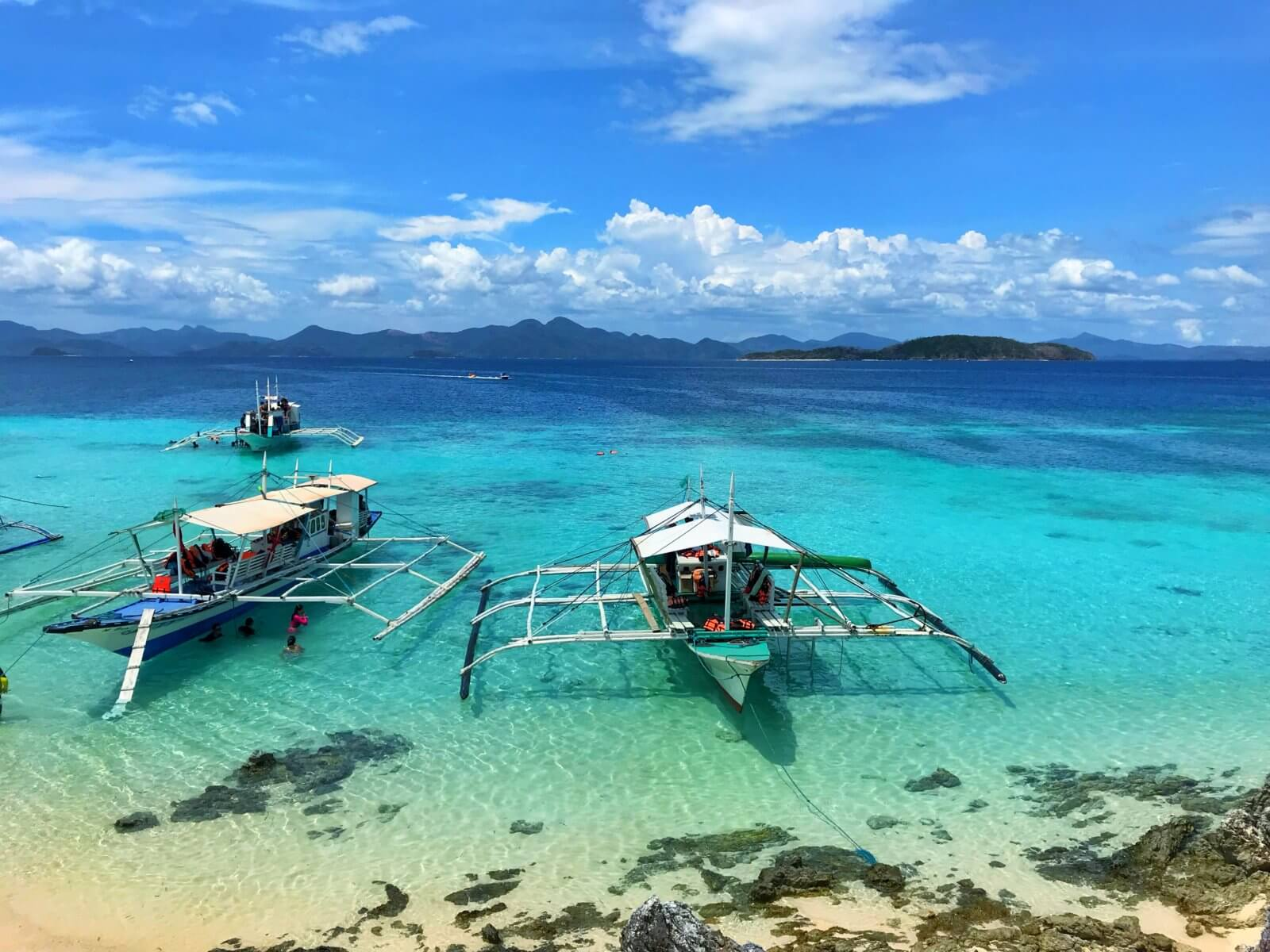 Island Hoping in Coron